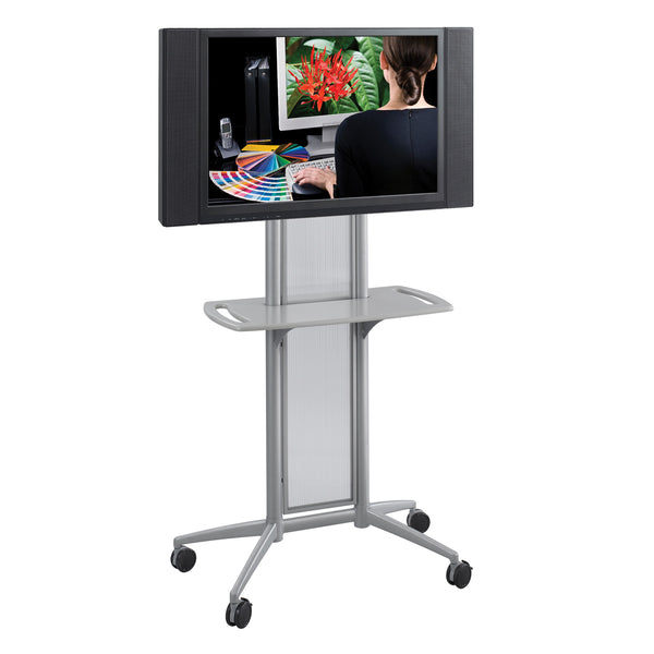Impromptu® Flat Panel TV Cart, Gray