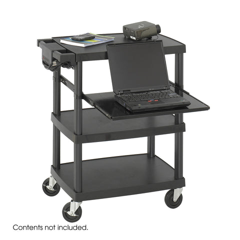 Multimedia Projector Cart, Black