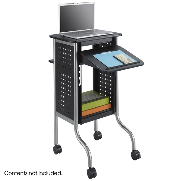 Scoot™ Presentation Projector Cart, Black