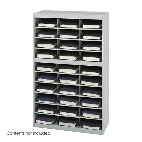 E-Z Stor® Steel Project Organizer, 30 Compartments, Gray