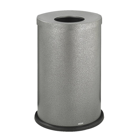 Black Speckle Trash Can, Open Top, 15 Gallon