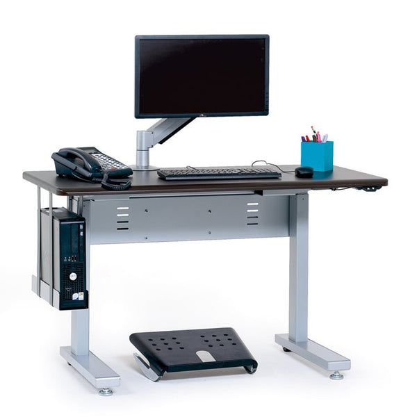Anthro Elevate Sit Stand Desk 60 Inches Maple Mvbd60ss