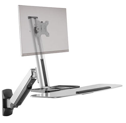 Freedom Lift™ - Wall Mounted Workstation - Single Monitor