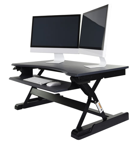 Level Up Premier Standing Desk Converter by Luxor