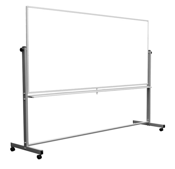 96 x 40 Double-Sided Magnetic Whiteboard by Luxor