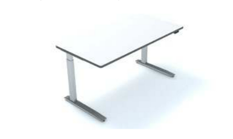 SiS SE2 Electric Height Adjustable Rectangle Desk