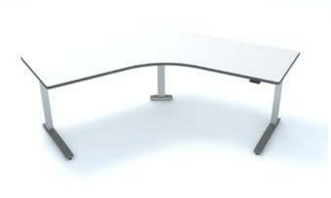 SiS SEV3 Electric Height Adjustable Desk - 3 Legs 120° Corner