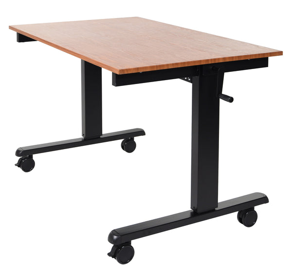 "48"" Crank Adjustable Stand Up Desk by Luxor"