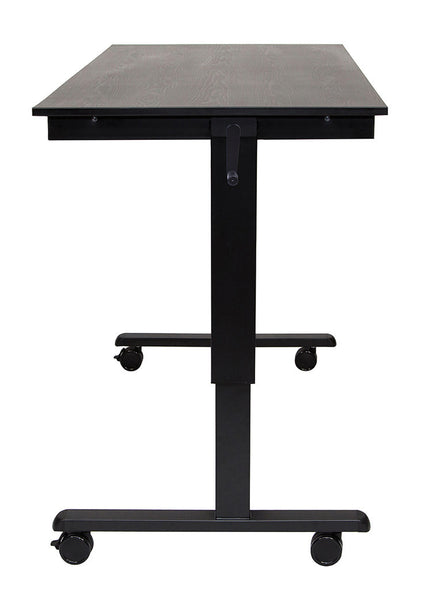 "60"" Crank Adjustable Stand Up Desk by Luxor"
