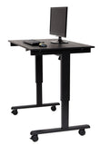 "Electric Standing Desk by Luxor 48"" STANDE-48-BK/DW"