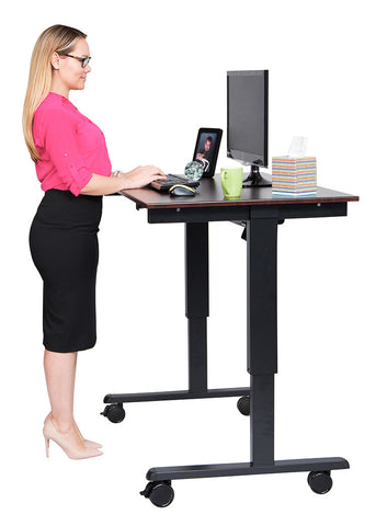 "48"" Electric Standing Desk  by Luxor"