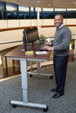 "Electric Standing Desk by Luxor 60"" STANDE-60-AG/DW"