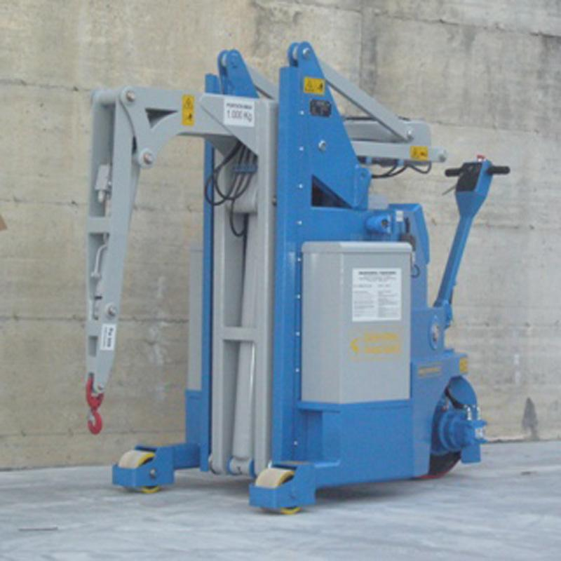 Electric Crane Minidrel 20S_STD Series for Molds up to 2,000 kg