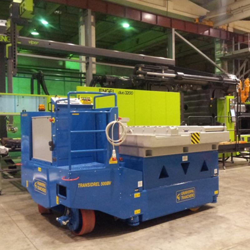 Electric Crane Transidrel 500B Series for Molds up to 50,000 kg