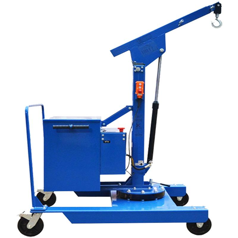 Electric or Semi-Automatic Mini Crane JT400_TR with Rotation for Molds up to 400 kg
