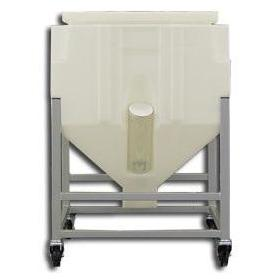Resin Bin Model PS350L (368 Lbs. Capacity) - Plastics Solutions USA