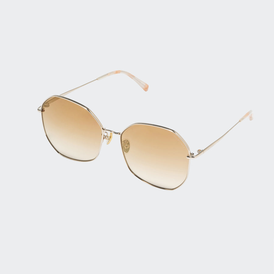 KYRA | Angular Metal Sunglasses | JILLSTUART Eyewear