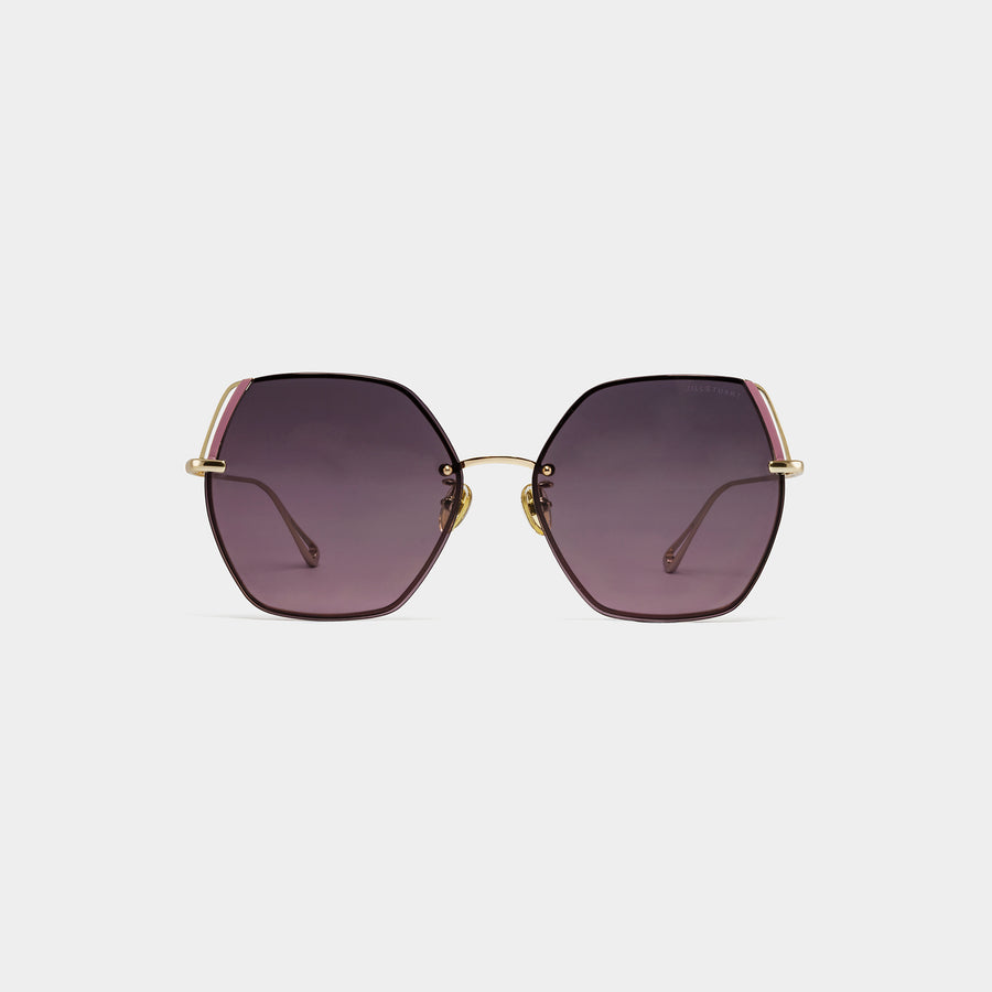 Metal Angular Sunglasses | JILLSTUART Eyewear ELLIE