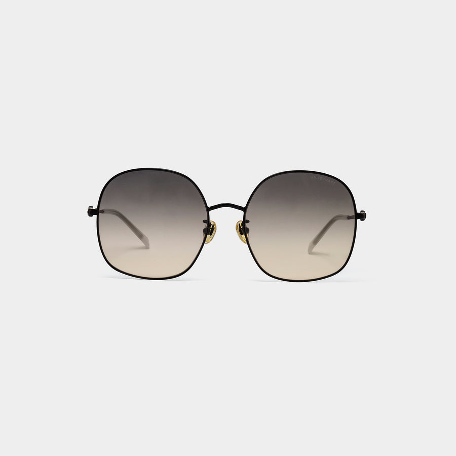 Square Metal Frame Sunglasses | JILLSTUART Eyewear STEPHANIE