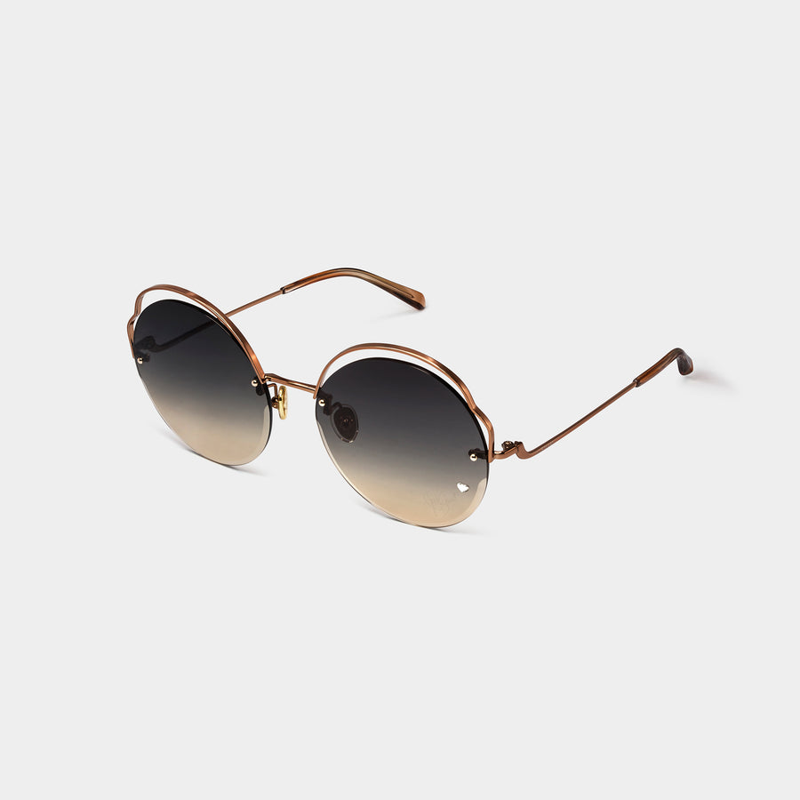 Unique Rounded Sunglasses | JILLSTUART Eyewear ALEXIA