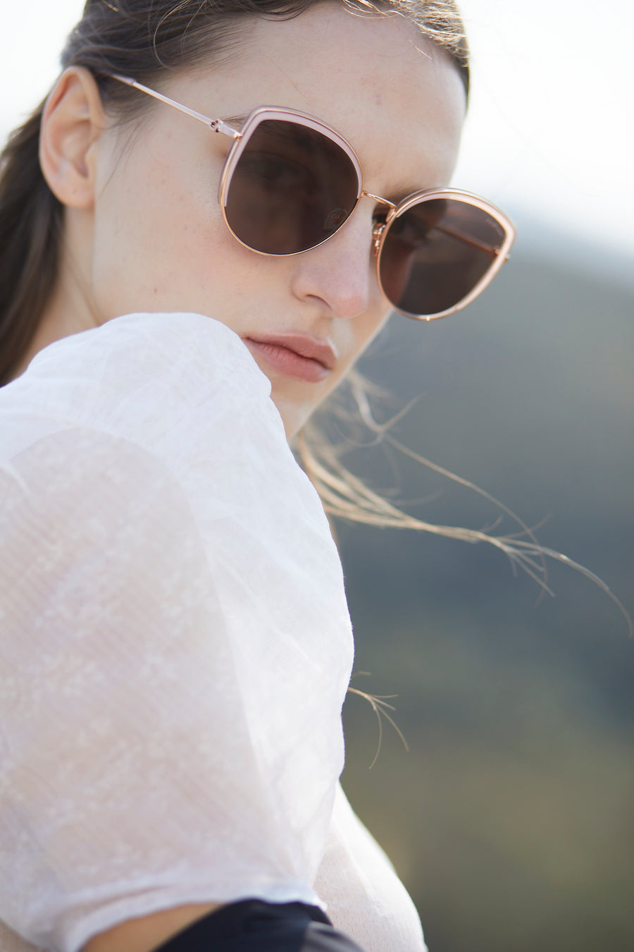SHLEY | Cat Eye Sunglasses | JILLSTUART Eyewear