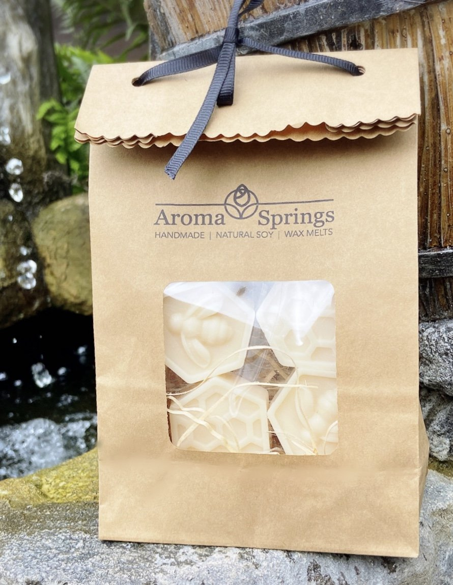 Bees & Honeycomb Soy Wax Melts - Aroma Springs Home Fragrances