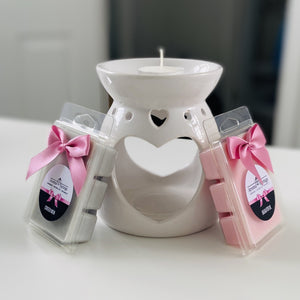 Wax Melt Starter Set (white) - Aroma Springs Home Fragrances