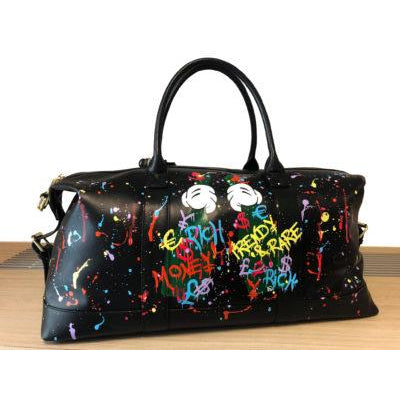 Hand painted duffel - Expensive Taste  - 1/1