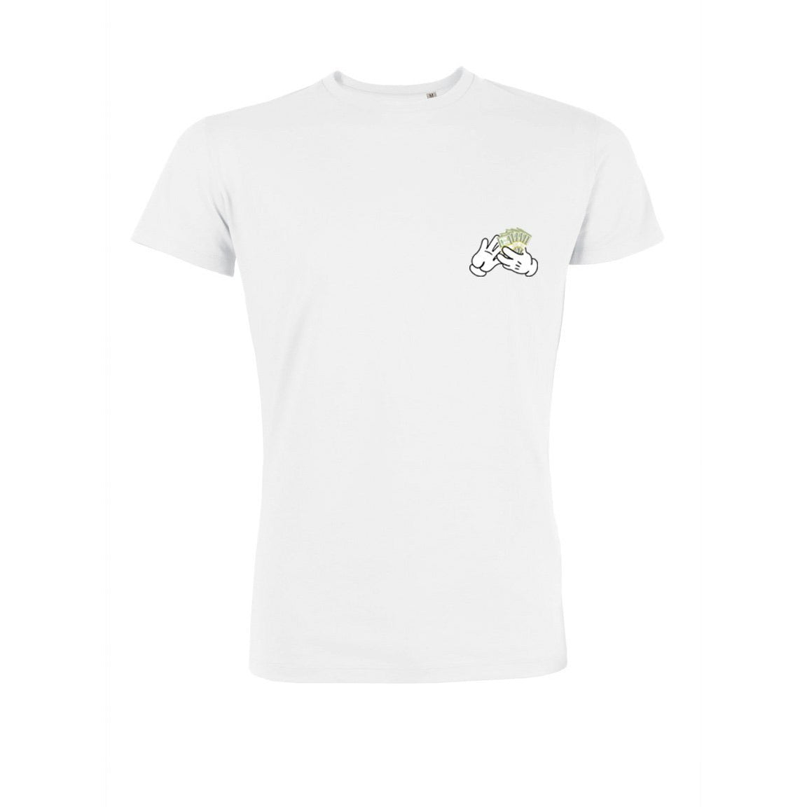 POCKET CASH T-SHIRT - WHITE