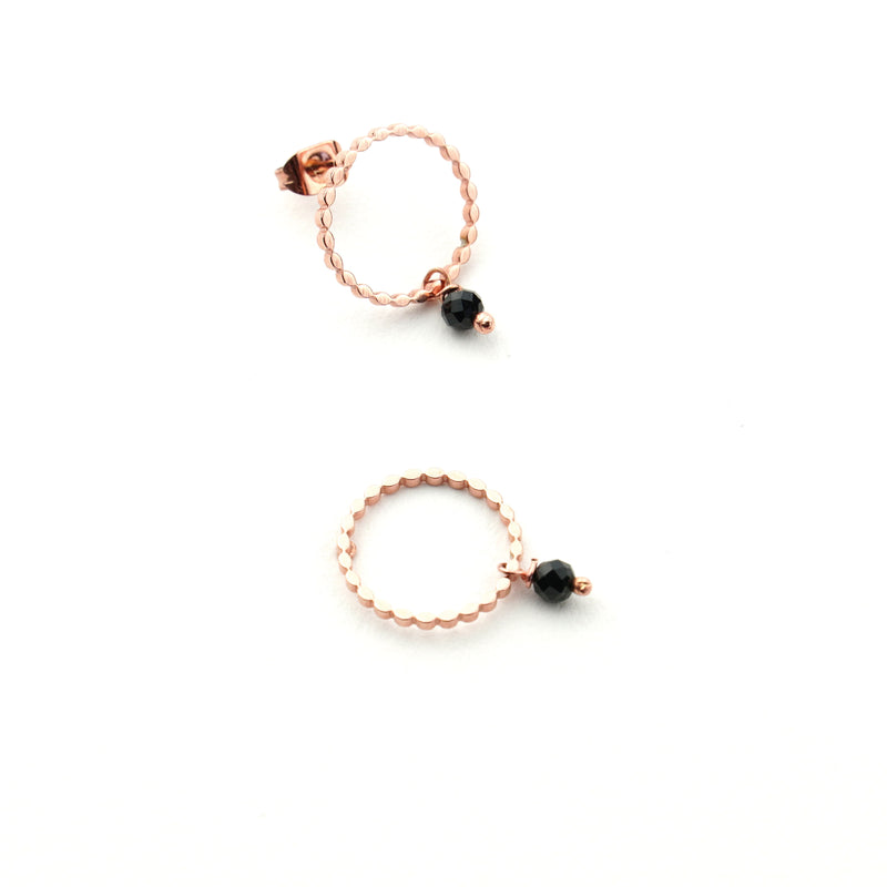 NINA Rose Gold Black