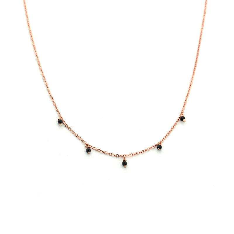 MIA Rose Gold Onyx