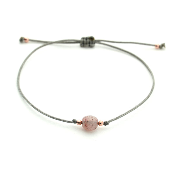 JASNA Gray Rose Quartz