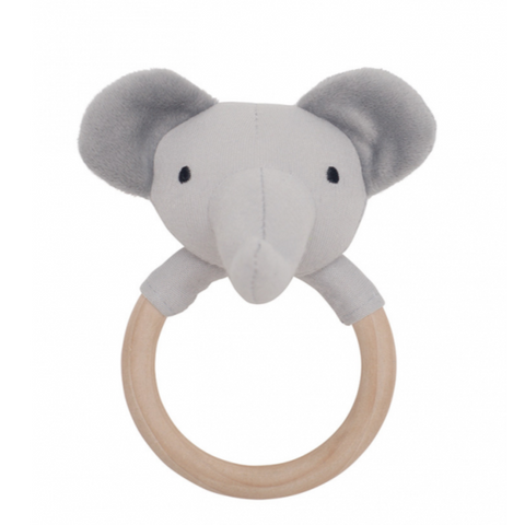 Jabadado Elelphant Ring Rattle