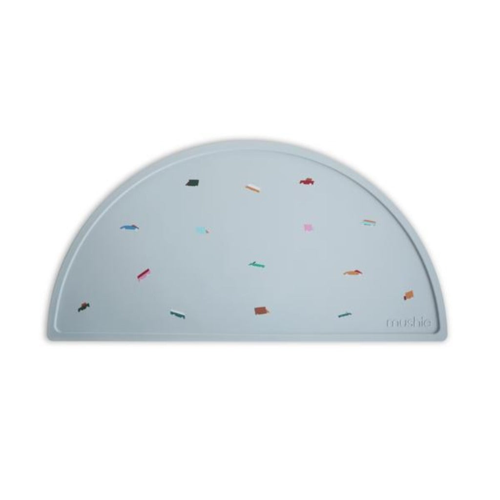 Mushie Silicone Placemat Retro Cars