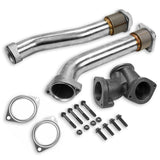 7.3 Up Pipes 1999-2003 Ford 7.3 Powerstroke Bellowed Up Pipes