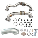 Ford 6.4 EGR Delete Kit with Heavy Duty Up Pipes 2008-2010 Ford 6.4 Powerstroke Diesel