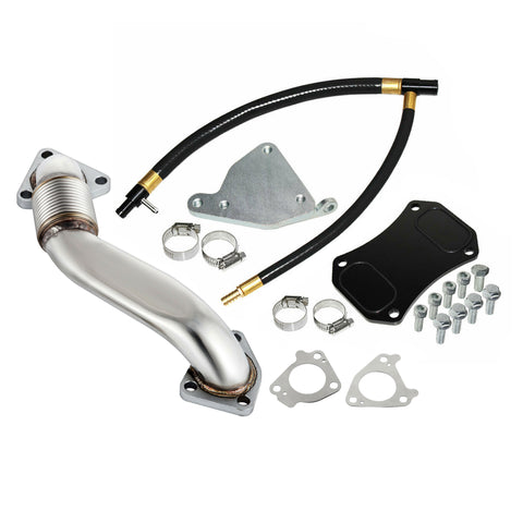 LML EGR Delete Kit w/ Up Pipe 2011-2017 Chevrolet GMC Duramax 6.6L