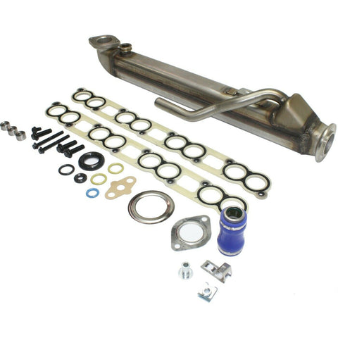 6.0L Powerstroke Diesel Complete Square EGR Cooler Kit For 2004-2010 Ford
