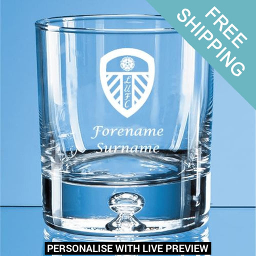 CREST Personalised Insulated Water Bottle Leeds United F.C
