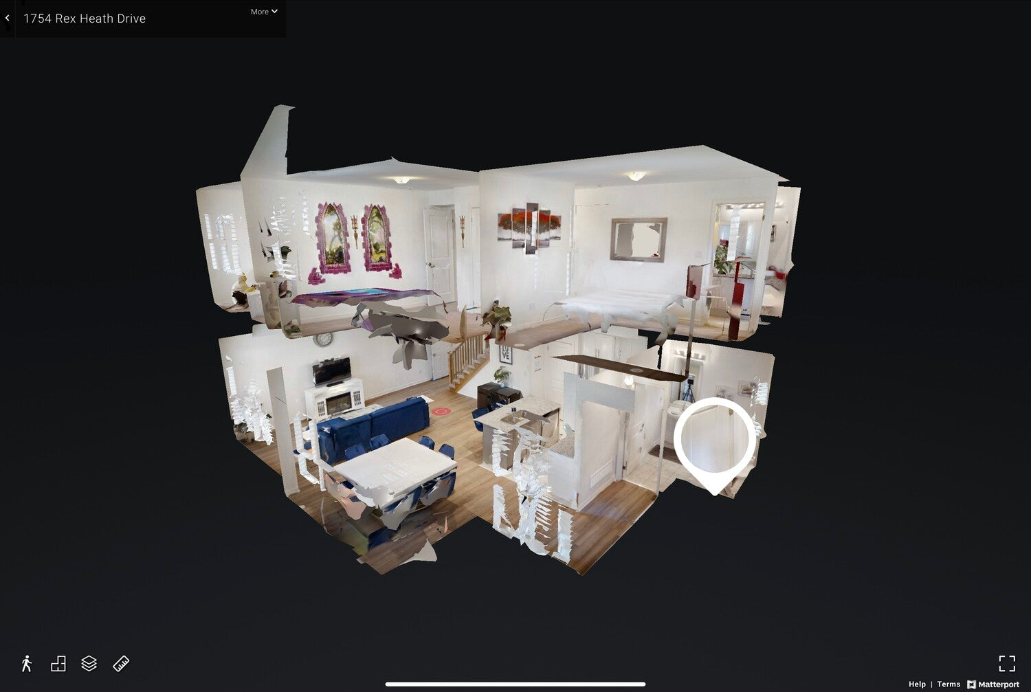 HDR Photos & Matterport Virtual Reality Tour Package