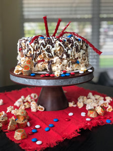 Customized Gourmet Popcorn Cake