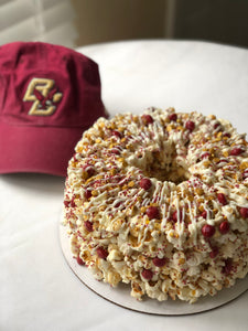 Game Day Gourmet Popcorn Cake