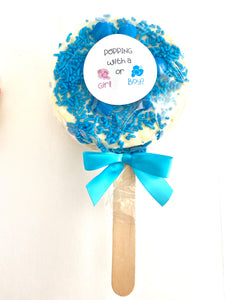 Gender Reveal Gourmet Popcorn Pops