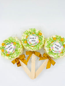 Baby Shower Popcorn Pops