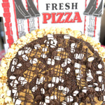 Load image into Gallery viewer, S'mores Lover's Gourmet Popcorn Pizza