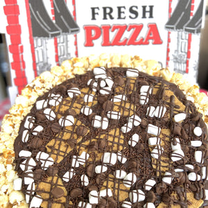 S'mores Lover's Gourmet Popcorn Pizza