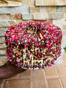 Love is Sweet Gourmet Popcorn Cake
