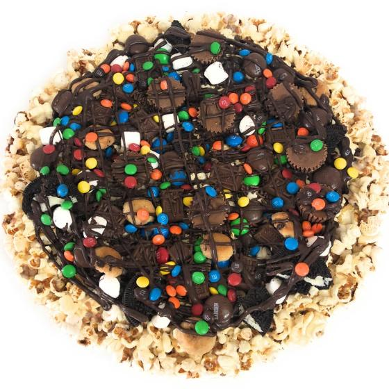 Customized Gourmet Popcorn Pizza