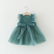 Load image into Gallery viewer, Aqua Party Dress