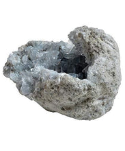 Load image into Gallery viewer, Natural Sky Blue Celestite Celestine Crystal Cluster from Madagascar paulabestdeals.myshopify.com